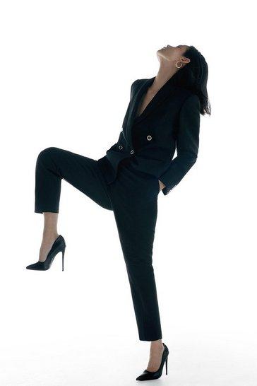 Black Label Italian Stretch Wool Trouser