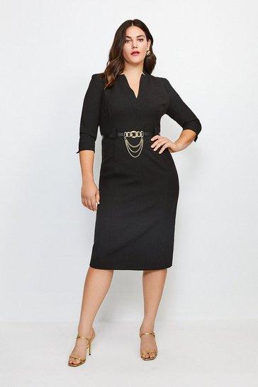 Black Curve Forever Dress