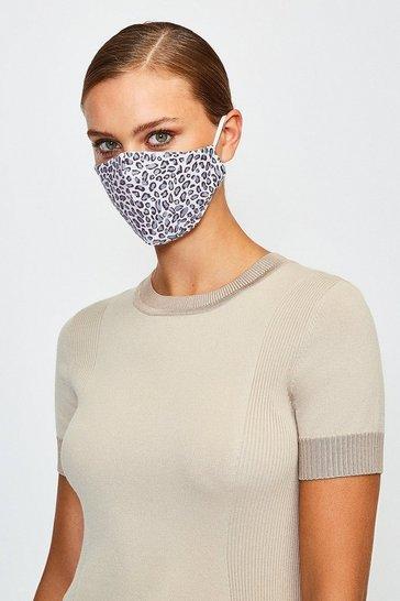 Fashion Leopard Face Mask