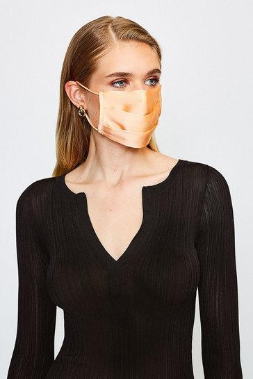 Fig Fashion Silk Face Mask Covering