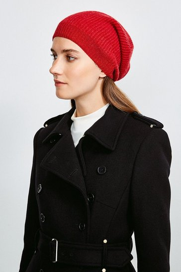Red Cashmere Hat
