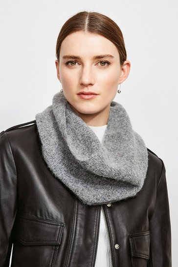 Grey marl Supersoft and Cosy Snood