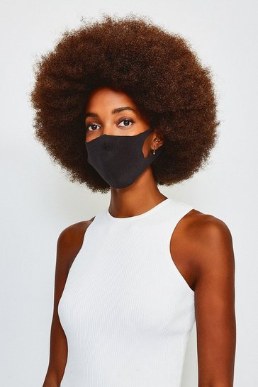Black 3 Fashion Face Mask Multipack