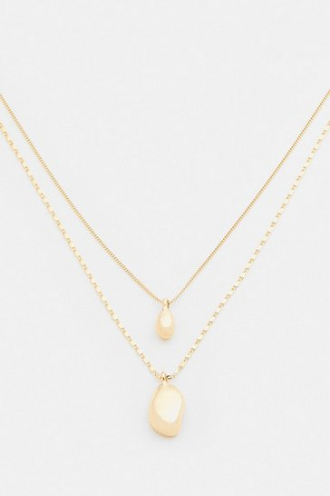 Gold Plated Layered Necklace
