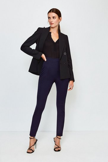 Navy Bi Stretch Legging