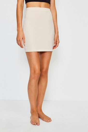 Nude Smoothing Essentials Short Slip Skirt
