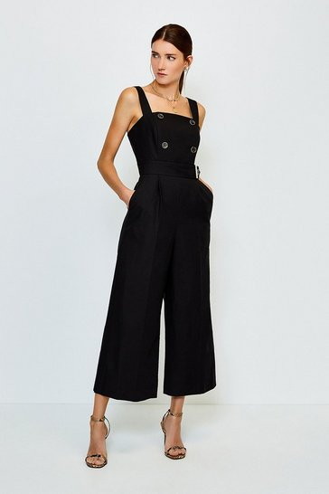 Black Sleek and Sharp Jumpsuit