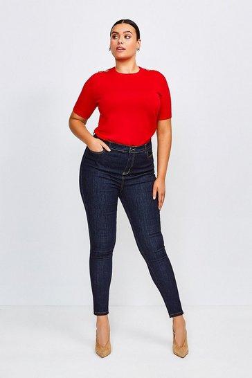 Indigo Curve 5 Pocket Skinny Jean