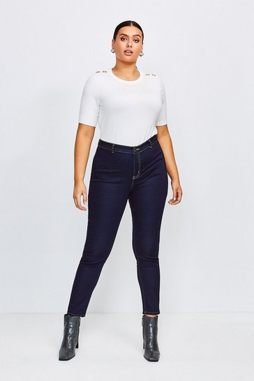 Indigo Curve Power Stretch Jegging