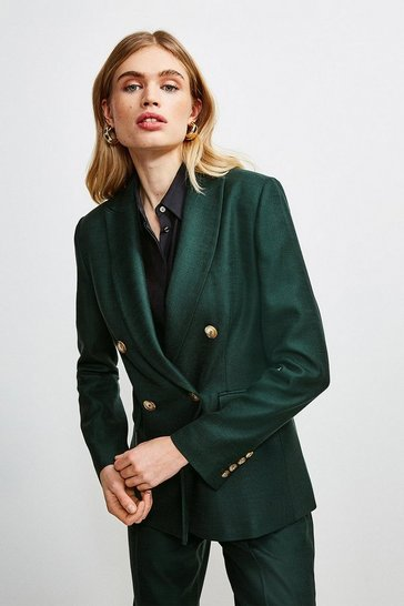 Evergreen Luxe Stretch Twill Jacket