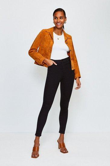 Black 5 Pocket Stretch Jean