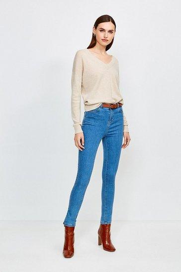 Light wash 5 Pocket Stretch Jean