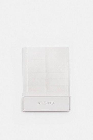 Clear Body Tape Strips