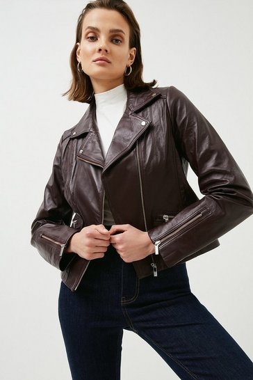 Fig Leather Signature Biker Jacket