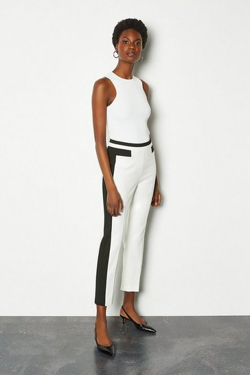 Mono Panel Block Trousers