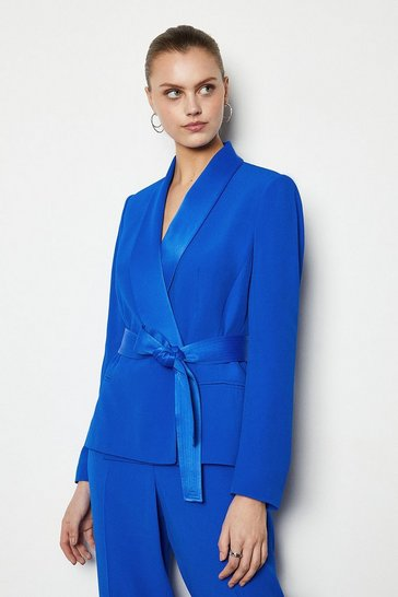 Blue Soft Tuxedo Jacket