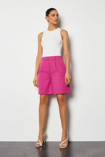 Pink Tailored Short