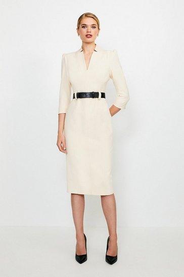 Cream Forever Dress