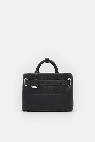 Black Deboss Grab Bag