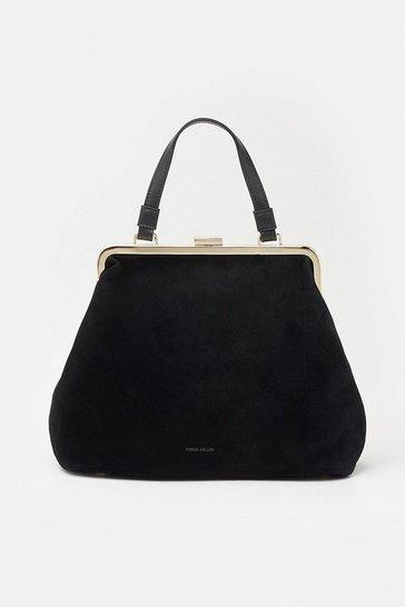 Black Frame Day Bag
