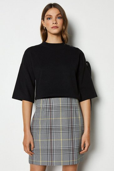 Multi Check Skirt
