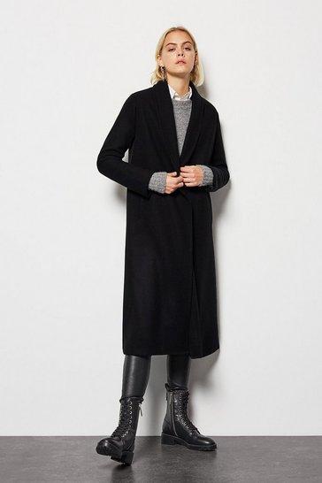 Black Maxi Coat