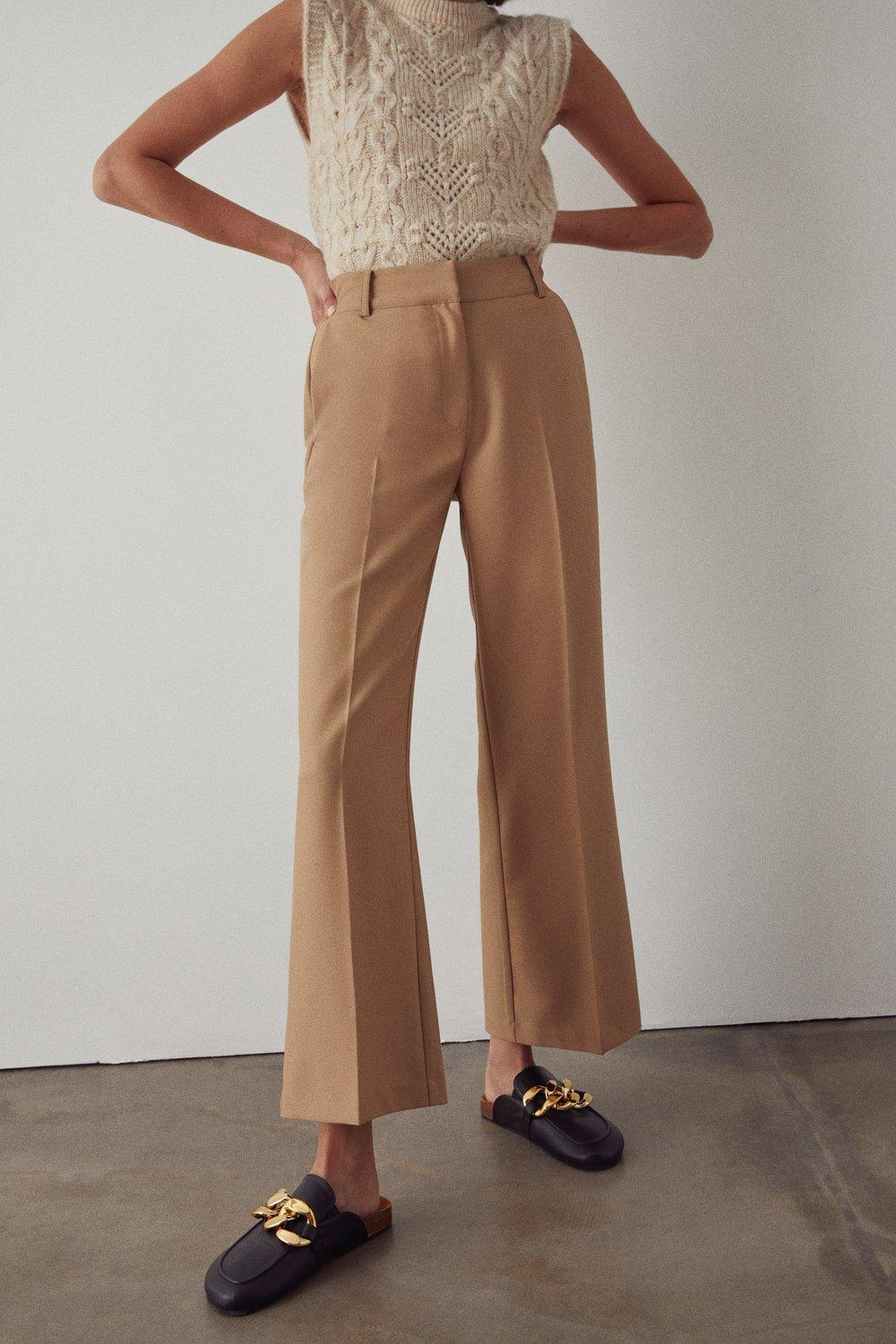 Womens Tailored Bootcut Trouser