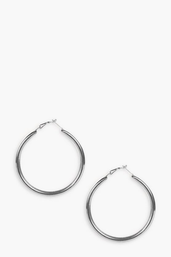 Paige Chunky 5cm Hoop Earrings