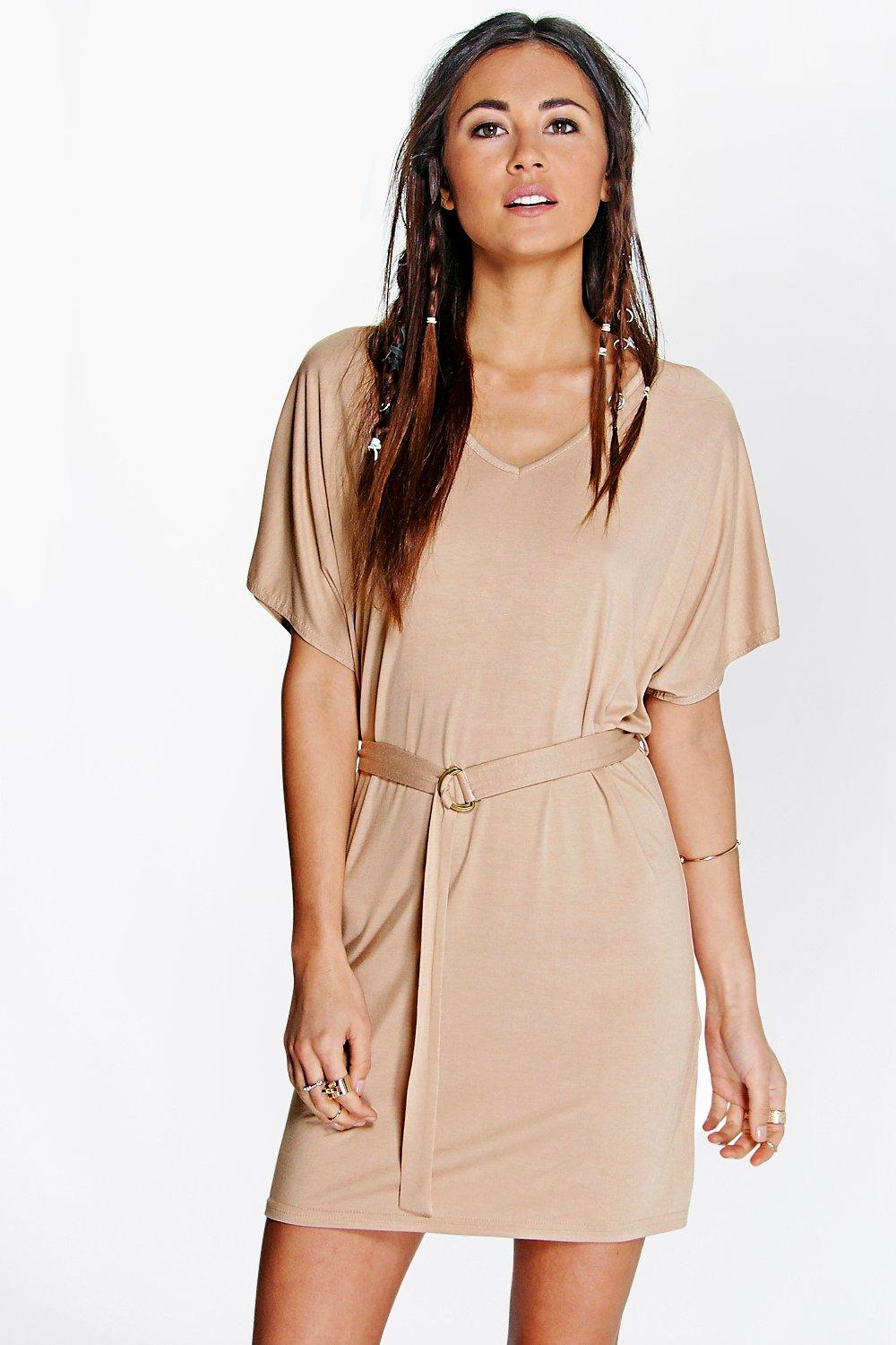 Bella Batwing Tie Shift Dress