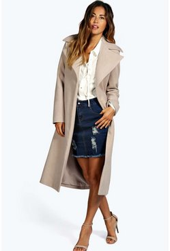 Jeeny Wool Look Coat
