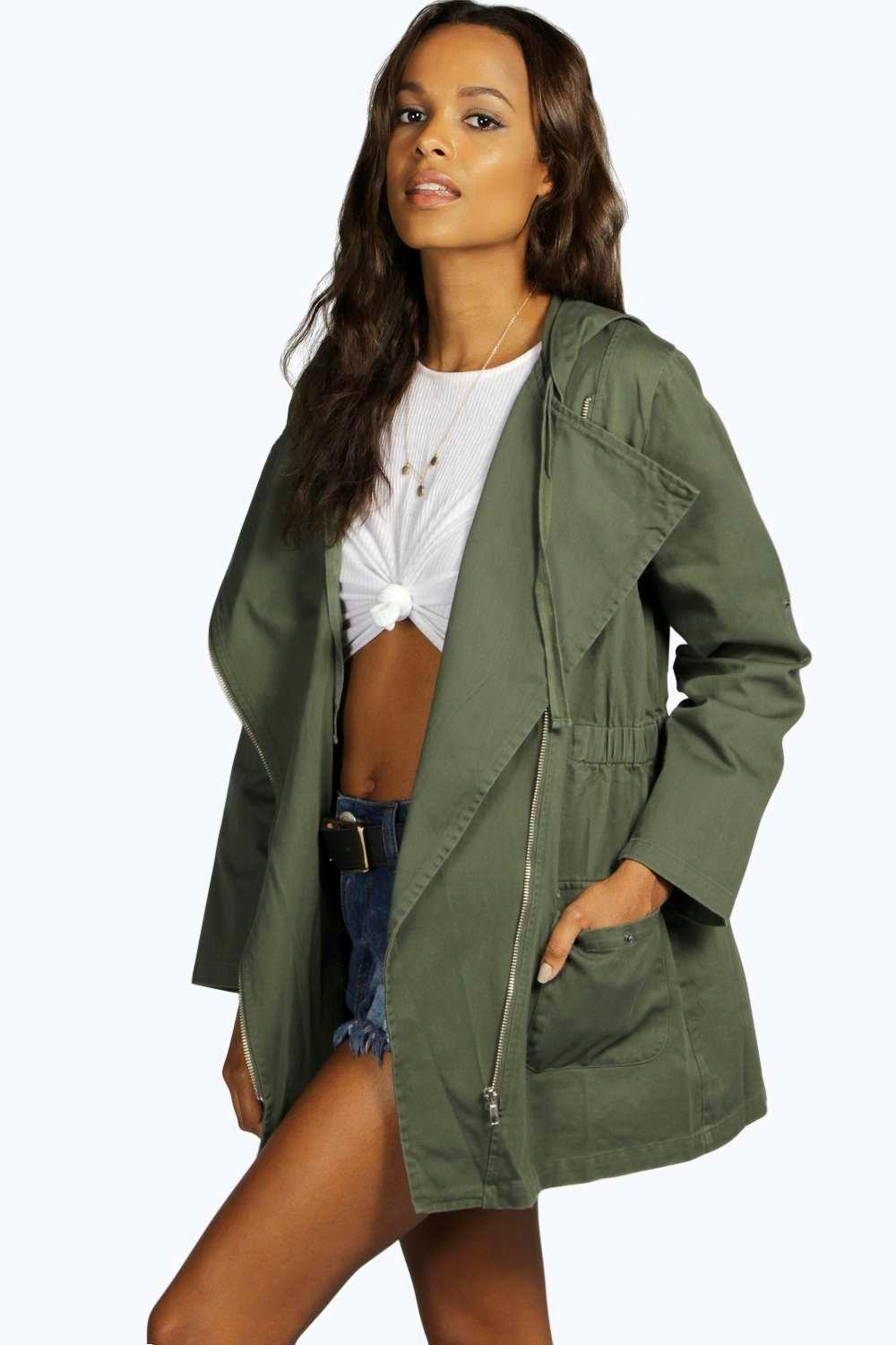 Holly Utility Festival Biker Jacket