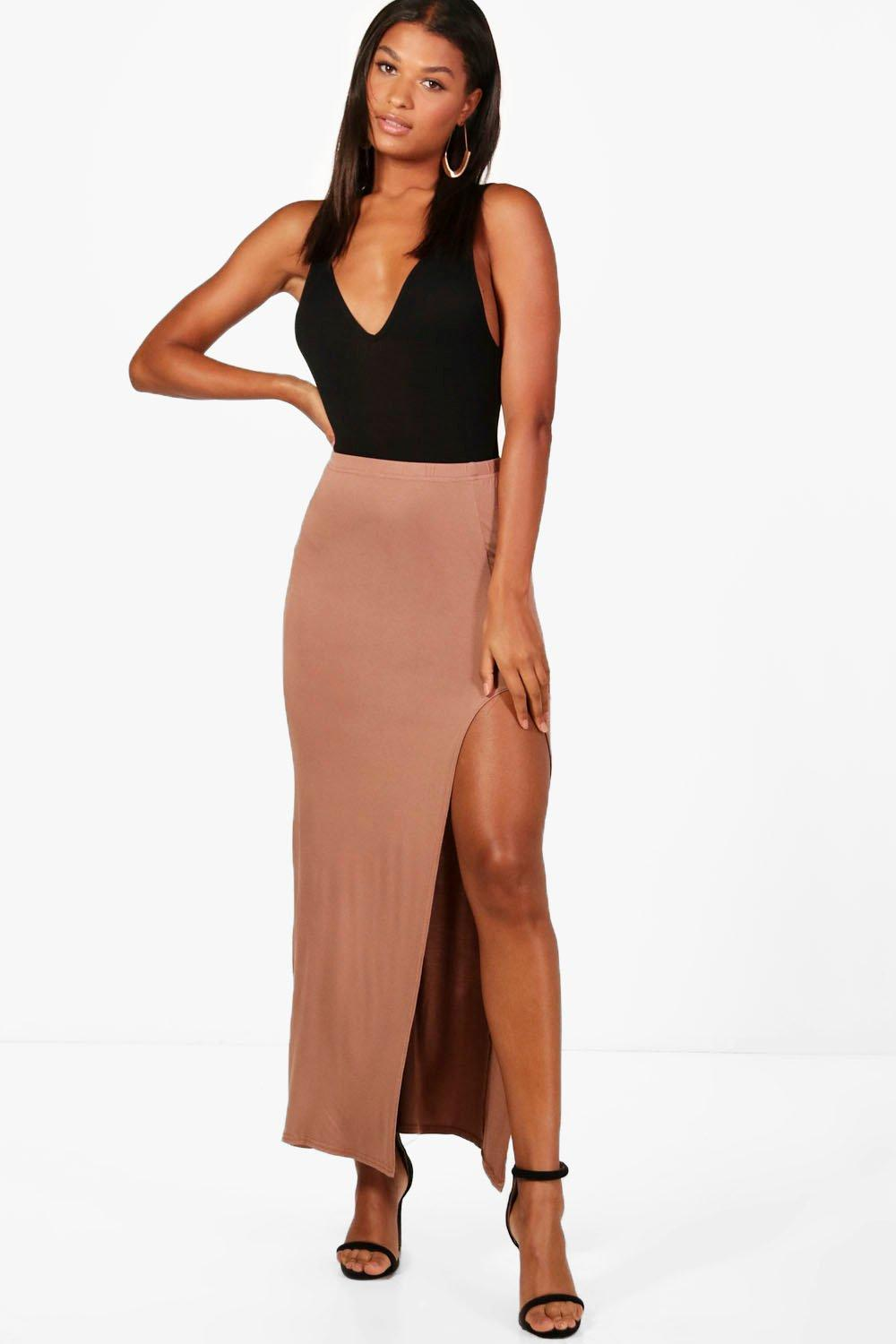 Soraya Thigh Split Maxi Skirt