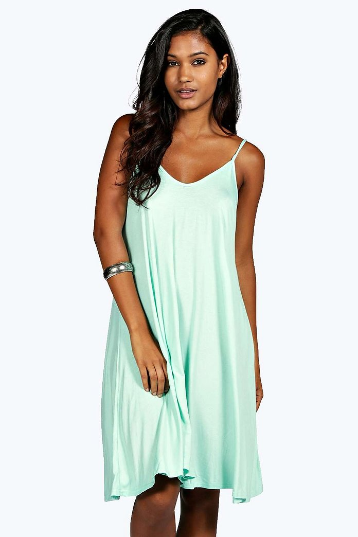 Kelly Strappy Swing Dress