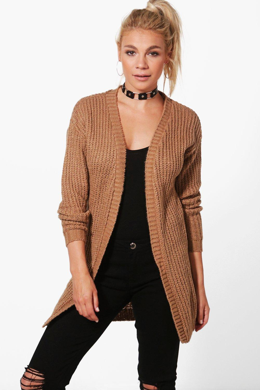 Martha Long Edge To Edge Grungy Cardigan