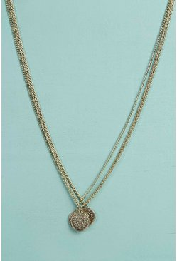 Lola Triple Coin Necklace