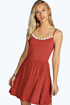 Kylie Daisy Trim Sundress