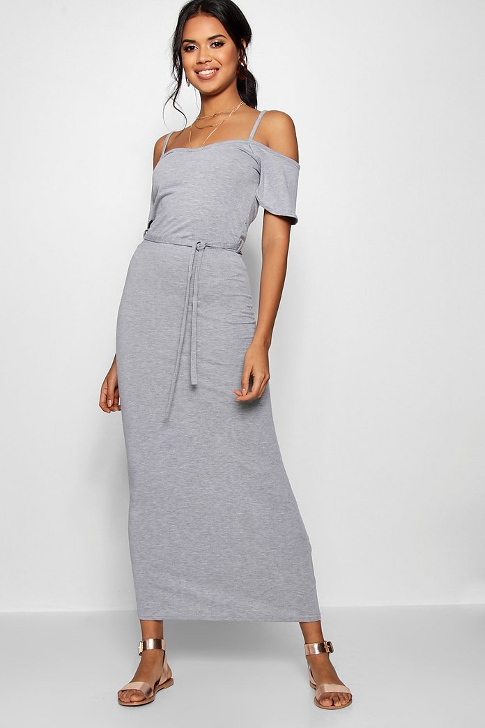 Isla Open Shoulder Maxi Dress