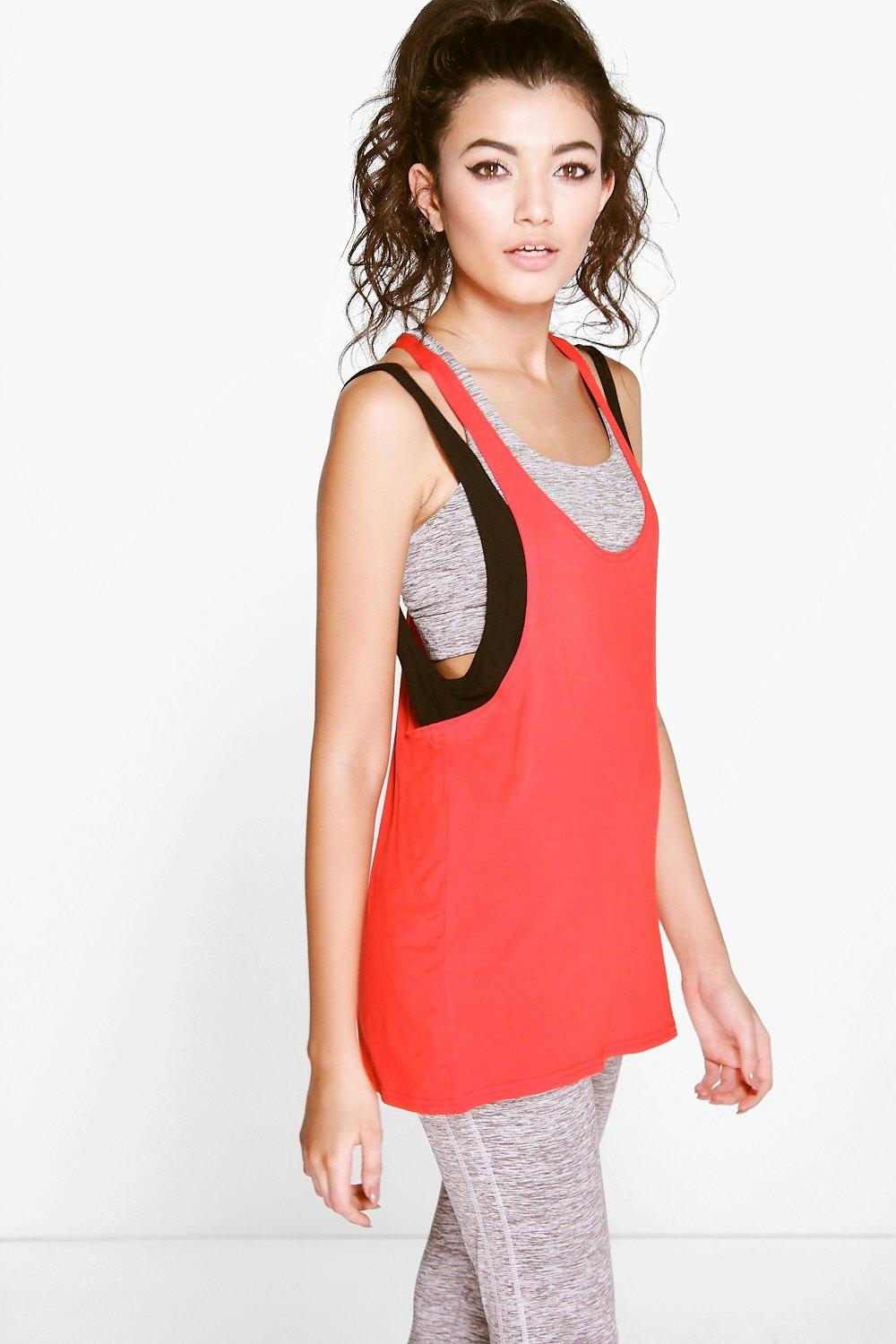 Harriet Double Layer Sports Vest
