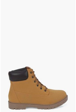 Sophia Lace Up Hiker Boot