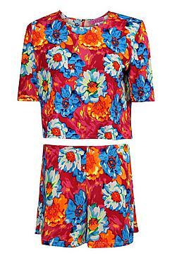 boohoo moda vestido de cintura caída