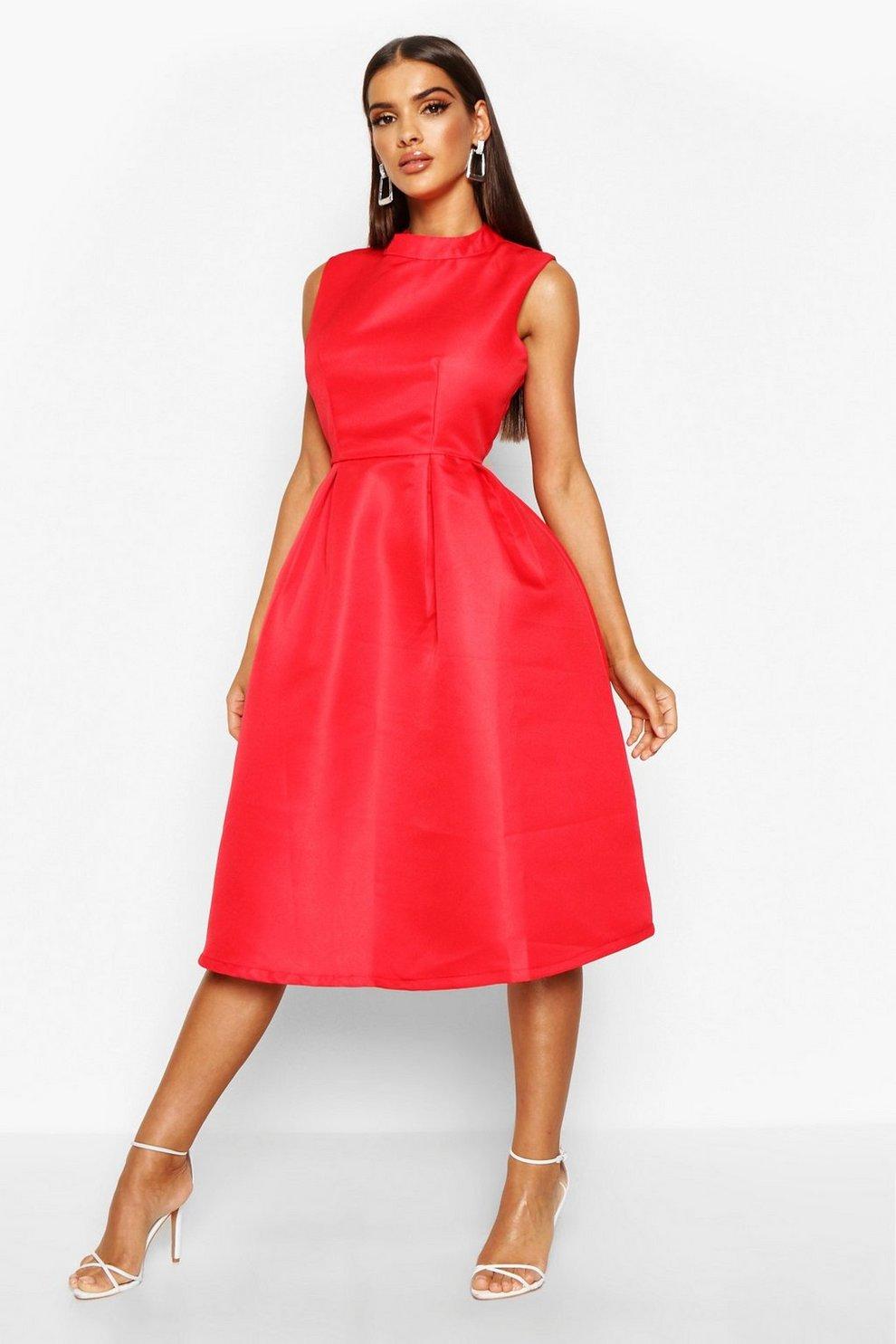 Sana Boutique High Neck Prom Dress | Boohoo