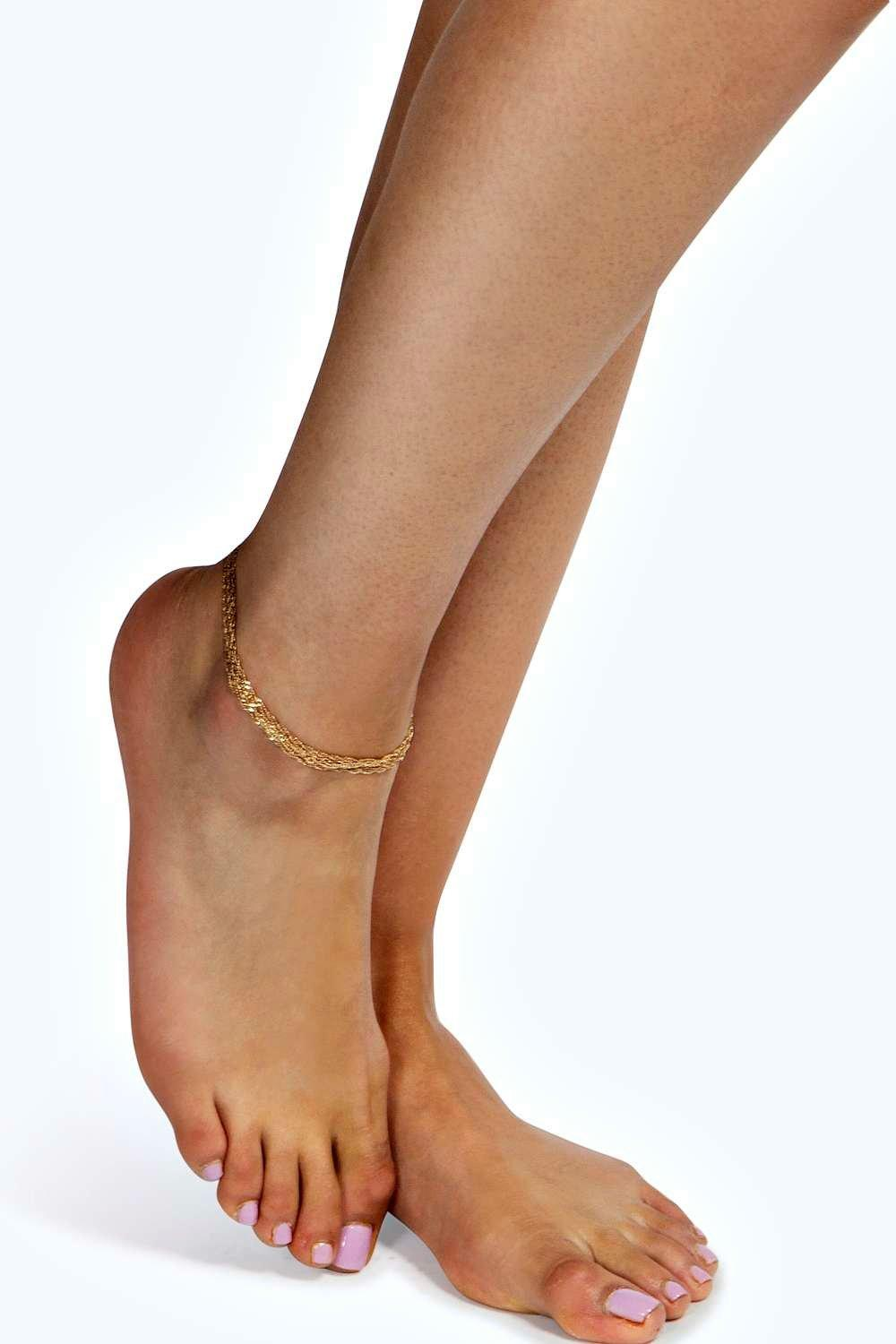 Lucy Layered Anklet
