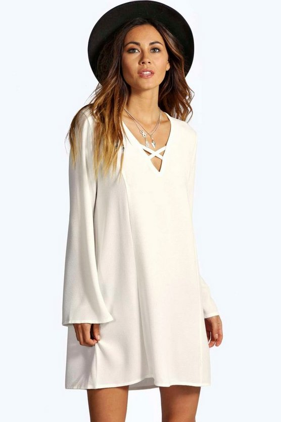 Lecricia V Front Shift Dress
