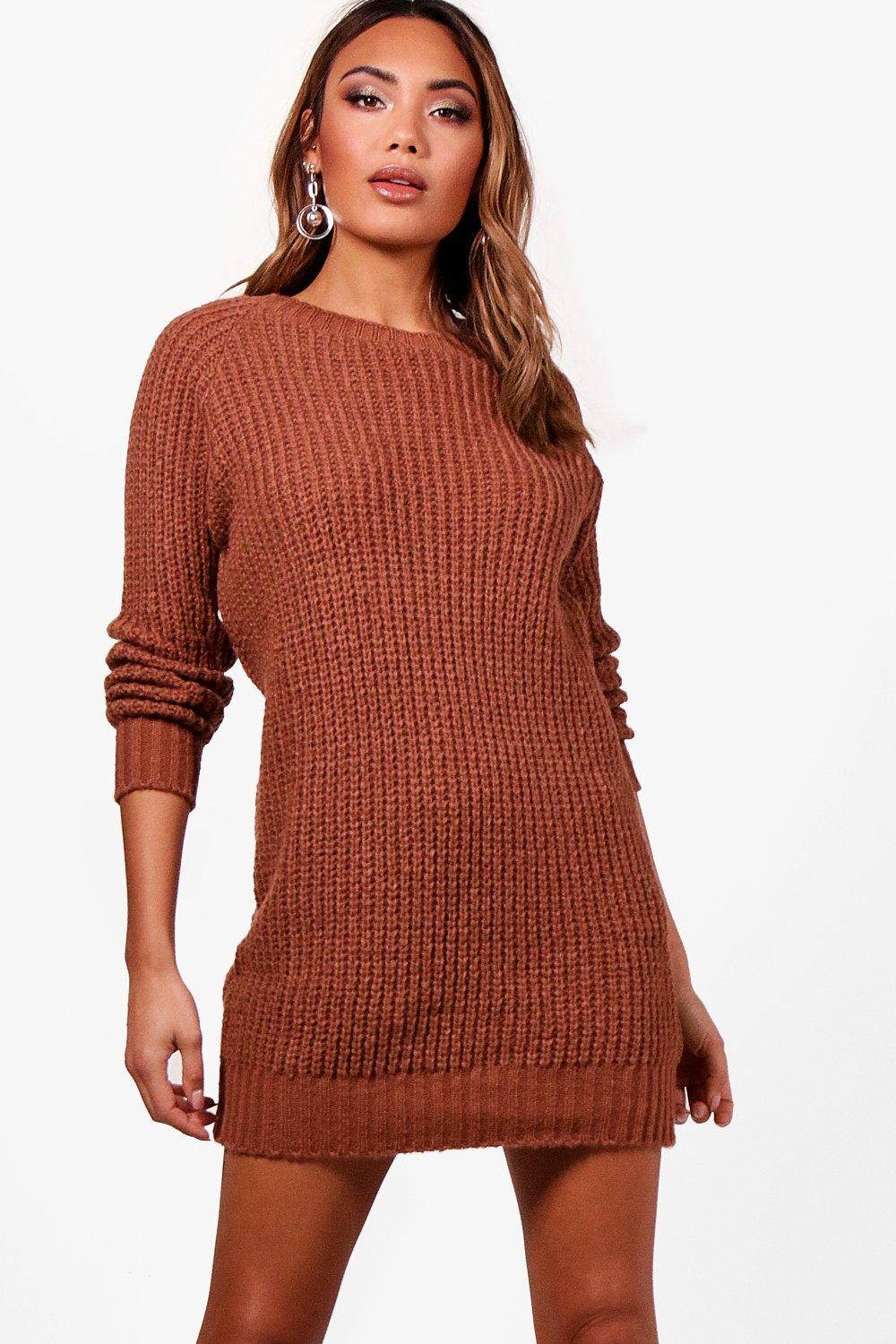 Maria Soft Knit Jumper Dress
