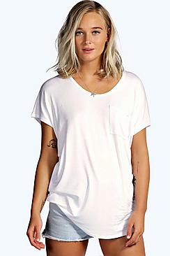 Maddison Pocket Oversized Tee