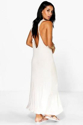 Lola Twist Back Detail Maxi Dress