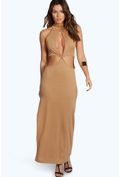 Candice High Neck Cutout Maxi Dress