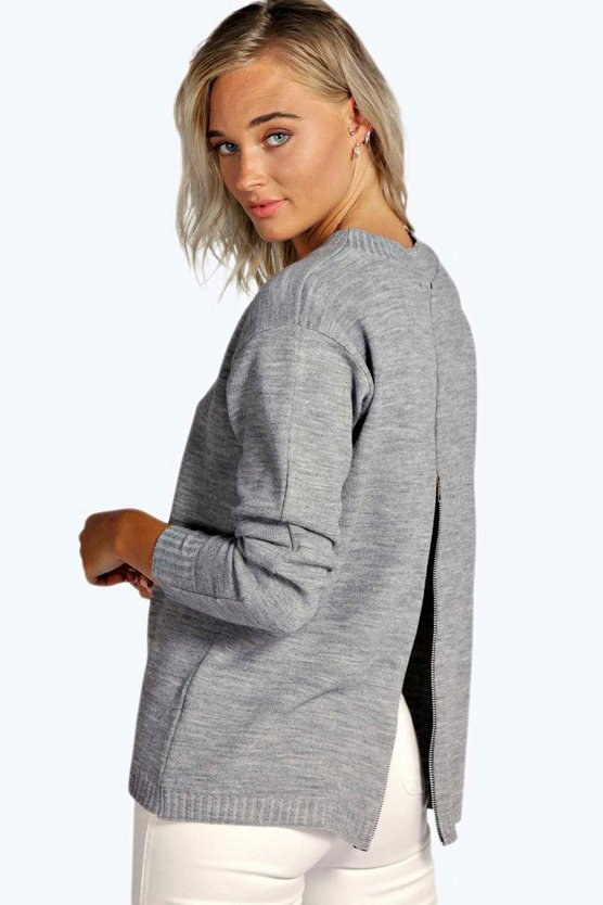 Ruby Zip Back Jumper