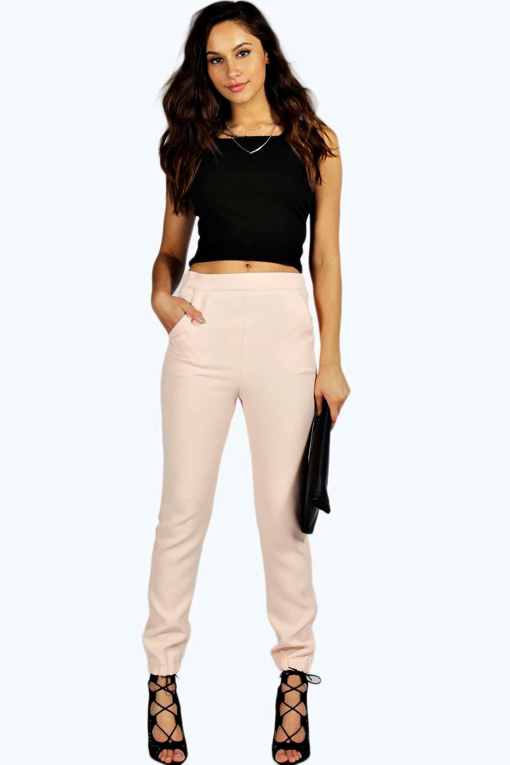 Lorna Formal Woven Jogger Trousers