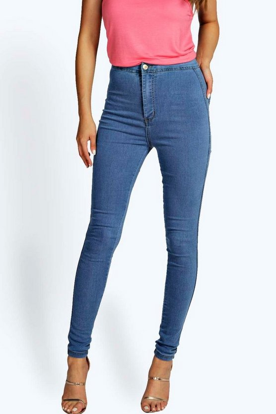 Macy High Waisted Skinny Jeans